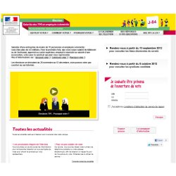 Le site internet d di aux lections de repr sentativit - Plafond salaire assistante maternelle ...