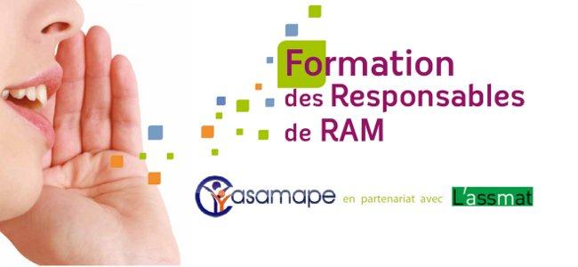 Formation des animateurs de RAM