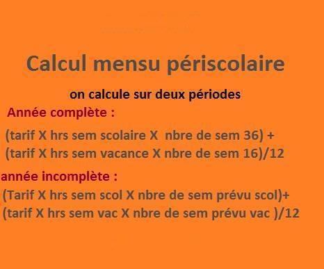 Calcul De Contrat En Periscolaire Les Forums De Casamape Casamape
