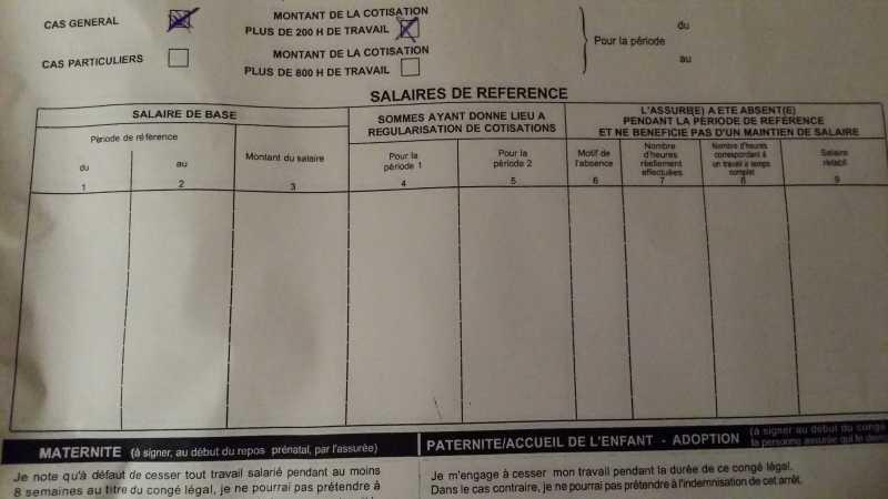 Aide Attestation De Salaire Maternite Les Forums De