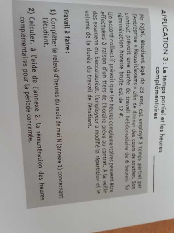 Calcul Des Heures Complementaires Les Forums De Casamape Casamape
