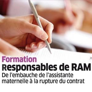 Formation des responsables de RAM